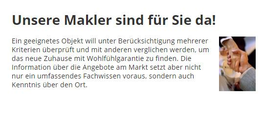 Makler für  Aschheim - Feldkirchen, Dornach oder Kirchheim (München)